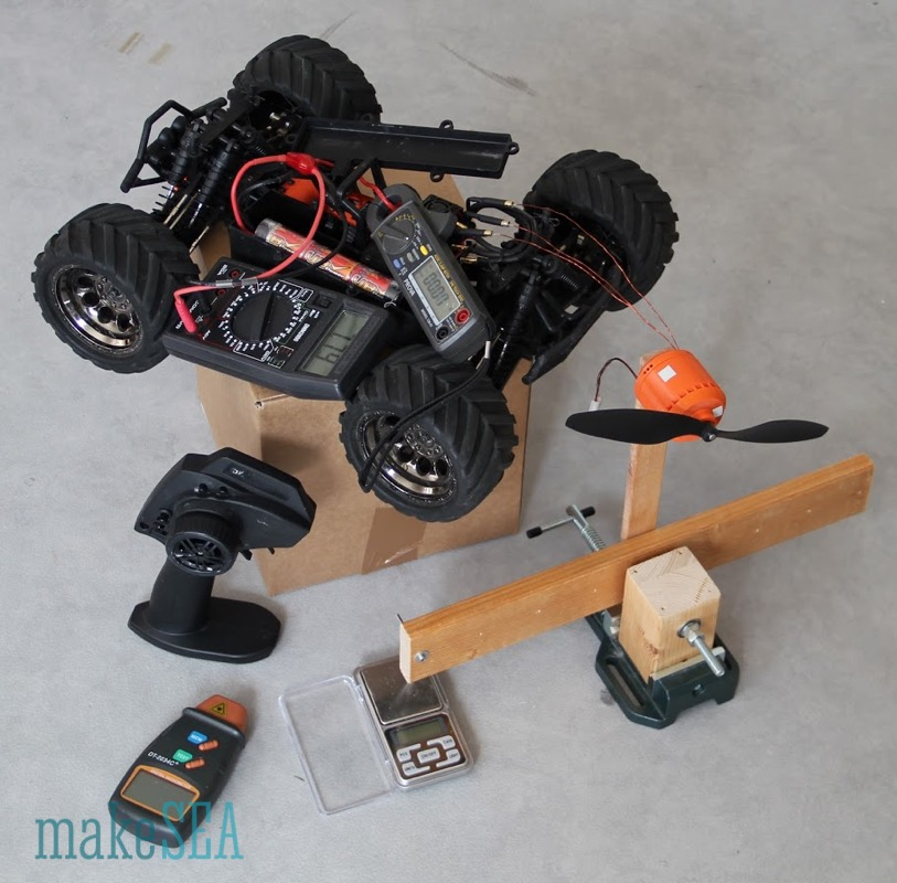 makeSEA motor torque test