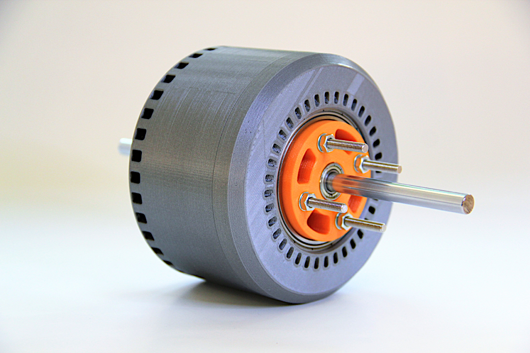 600 watt 3d printed halbach array brushless motor